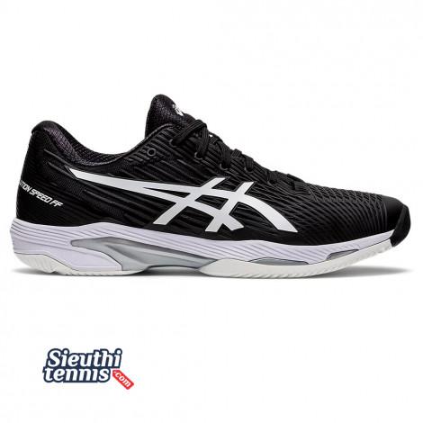 Giày Tennis Asics Solution Speed FF Black/White