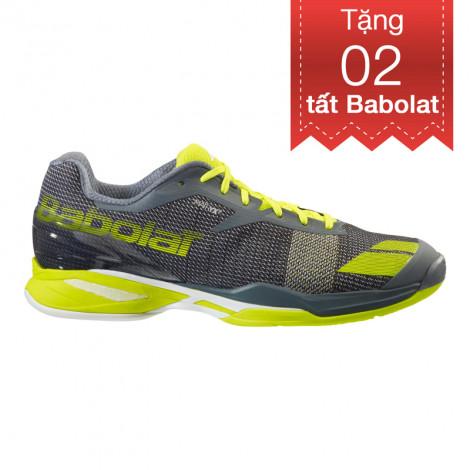 Giày Tennis Babolat Jet AC Grey/Yellow 30S16629