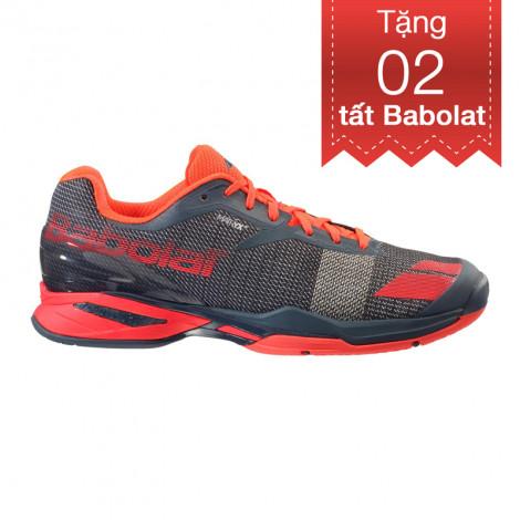 Giày Tennis Babolat Jet AC Grey/RED 30S16629-208