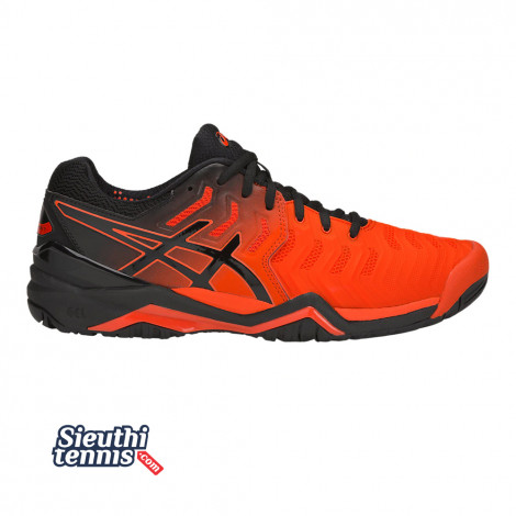 Giày Tennis Asics Gel Resolution 7  Red/Black 2019