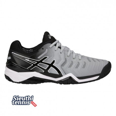 Giày Tennis Asics Gel Resolution 7 Gr/Bl/Wh E701Y-9690