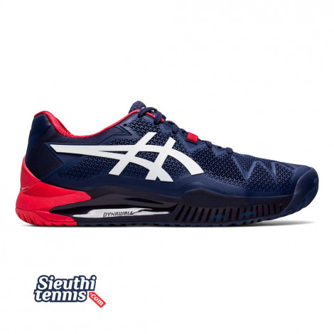 Giày tennis Asics Gel Resolution 8 (1041A079-400)