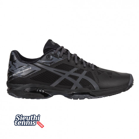 Giày tennis Asics Gel Solution Speed 3 Limited Edition Black E803N-9095