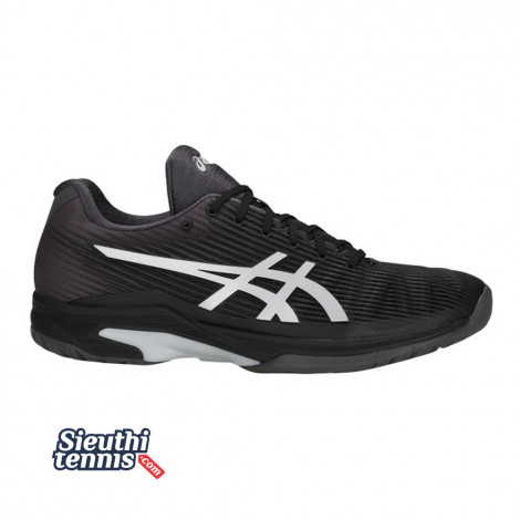 Giày tennis Asics Solution Speed FF Black/Silver (1041A003-001)