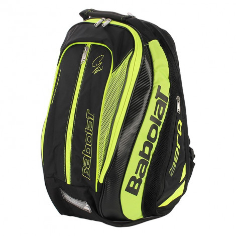 Balo Babolat Backpack Pure Aero Black Yellow 753039