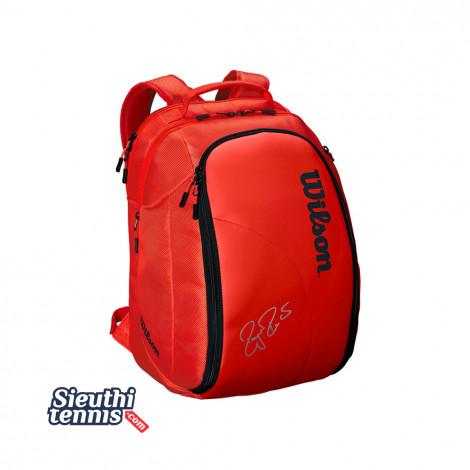 Balo tennis Federer DNA Red/Black WRZ830896