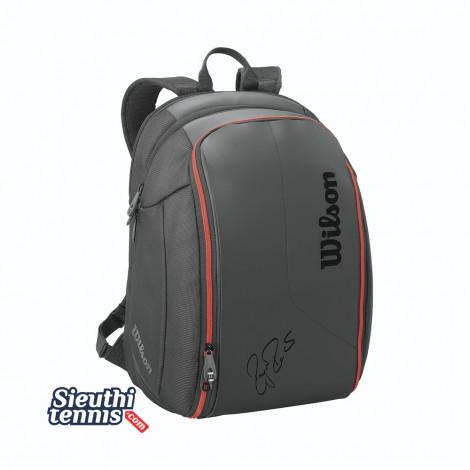 Balo tennis Federer DNA Backpack Black/red WRZ832796