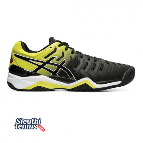 Giày tennis Asics Gel Resolution 7 Blk/Ye/Or