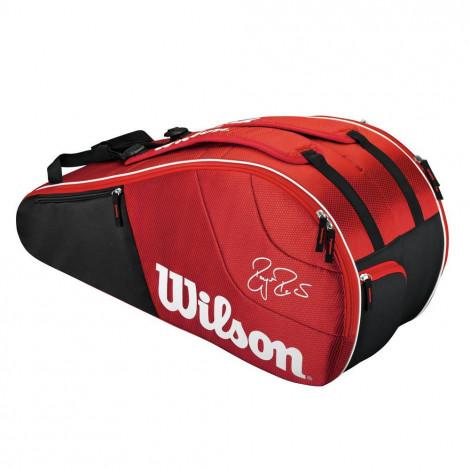 Túi Tennis Wilson Federer Team 6 Cây WRZ833406
