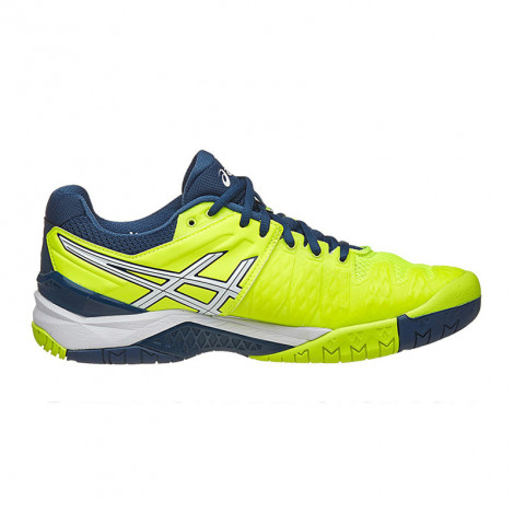 Giày Tennis Asics Gel Resolution 6 Yellow/White E500Y-0701