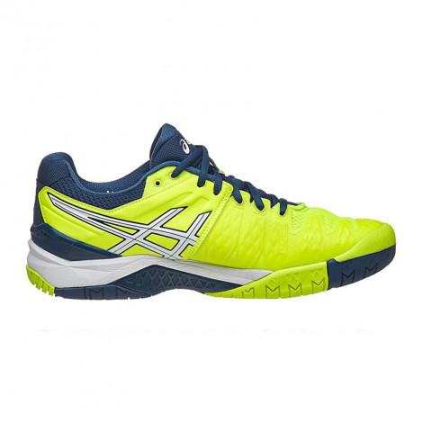 Giày Tennis Asics Gel Resolution 6 Yellow/White E500Y-0701
