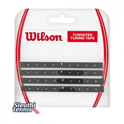 Miếng dán tăng trọng lượng vợt Wilson TUNGSTEN TUNING TAPE WRZ535900
