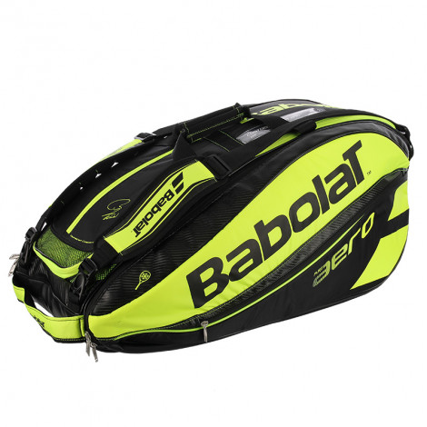 Túi Tennis Babolat Pure Aero 2016 Black/Lime X12 (751114)