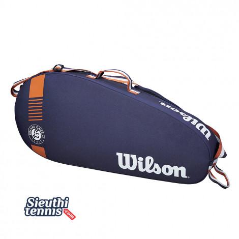 Túi tennis Wilson Roland Garros Team 3PK