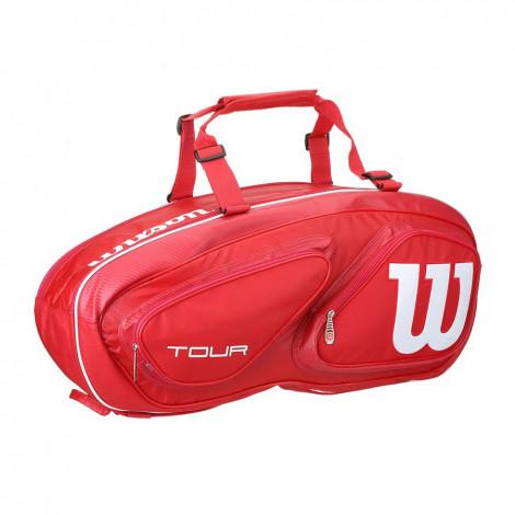 Túi Tennis Wilson Tour V Red 6 WRZ847606