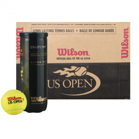 Thùng bóng Wilson Us Open (Lon 3 bóng)