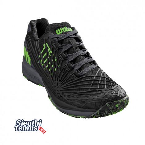 Giày tennis Wilson Kaos 2.0 Black/Green WRS324810