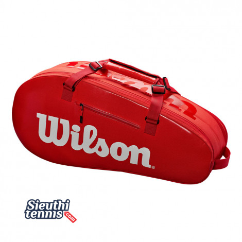 Túi tennis Wilson Super Tour 2 Comp Red WRZ840809