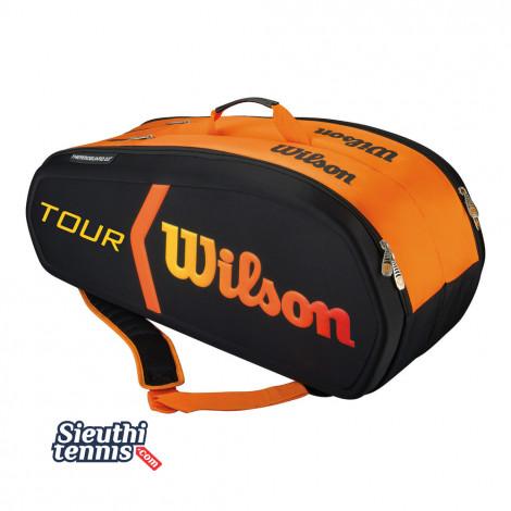Túi Tennis Wilson BURN MOLDED 9 cây WRZ841509