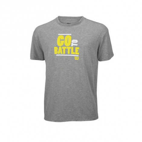 Áo Thể Thao Wilson M LS Battle Won Tech T Heather WR1133200