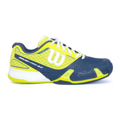 Giày Tennis Nam Wilson Rush Pro 2.0 SOLAR LIME/PACIFIC TE/WH WRS319770
