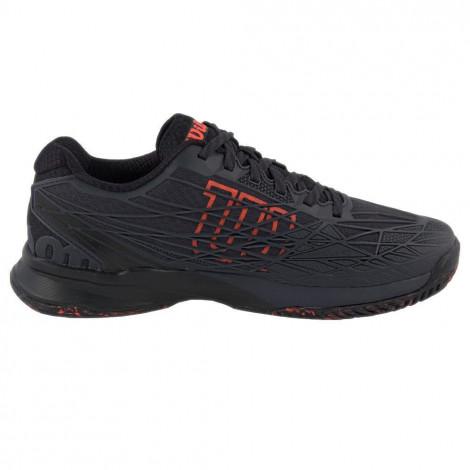 Giày Tennis Wilson KAOS Ebony/Black/Fiery Coral