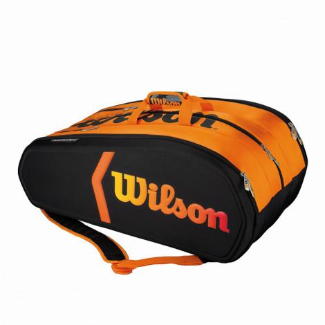Túi Tennis Wilson BURN MOLDED 15 cây WRZ841515