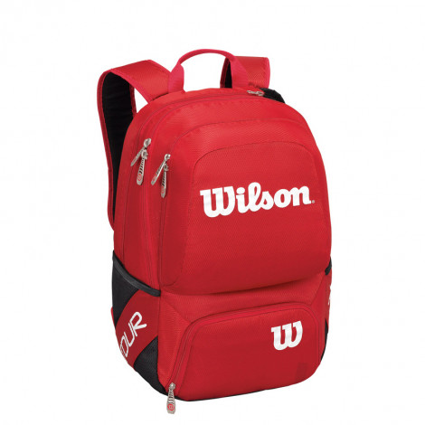 Balo tennis Wilson TOUR V BACKPACK MEDIUM RD wrz843695