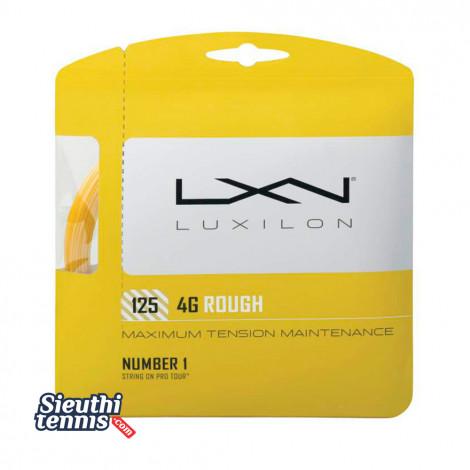 Dây cước tennis Luxilon 4G ROUGH 125 WRZ997114