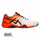 Giày tennis Asics Gel Resolution 7 White/Koi/Black E701Y-100