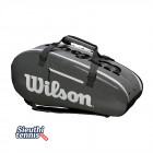 Túi tennis Wilson Super Tour 2 Comp Large Black WRZ843909