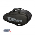 Túi tennis Wilson Tour 2 Comp Large Black WRZ849309