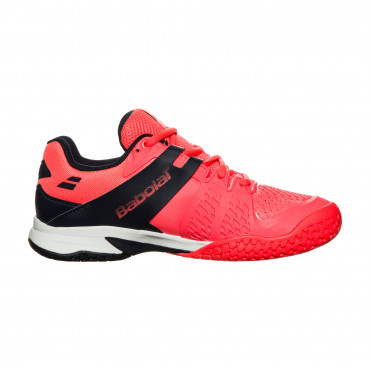 Giày tennis trẻ em Babolat Propulse All Court Fluo/Red - 33S17478