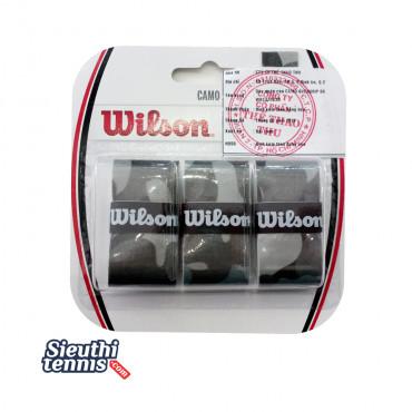 Cuốn cán vợt tennis Wilson Camo BK WRZ470830