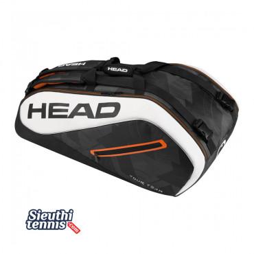 Túi tennis Head Tour Team 9R  V283447 Black-White