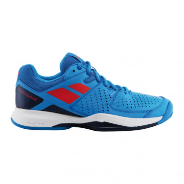 Giày tennis Babolat Pulsion All Court White / Blue - 30S17336