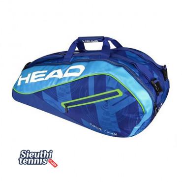 Túi tennis Head Tour Team 9R  V283447 Blue-Green