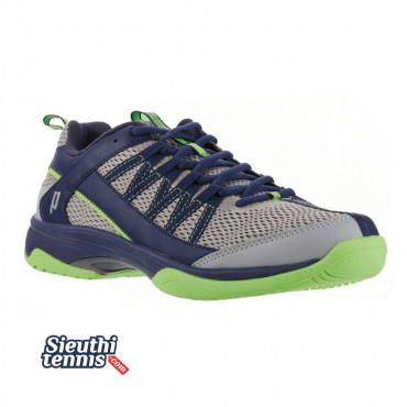 Giày tennis Prince Vortex Grey/Navy/Green