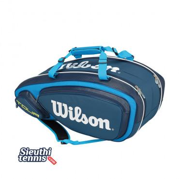 Túi Tennis Wilson TOUR V 9 PACK BL WRZ843609