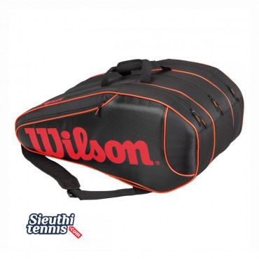 Túi tennis Wilson BURN TEAM 12 Pack WRZ854512