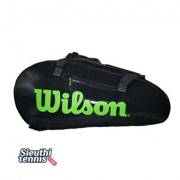 Túi tennis Wilson Super Tour 3 Comp Black WR8004101001