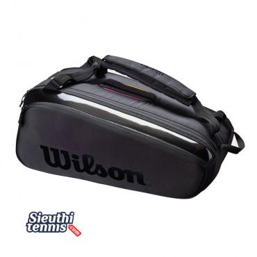 Túi tennis Wilson Super Tour Pro Staff 9 Pack
