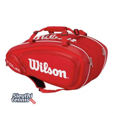 Túi Tennis Wilson TOUR V 9 PACK RD WRZ847609