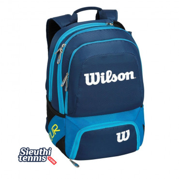 Balo tennis Wilson TOUR V BACKPACK MEDIUM BL WRZ844695