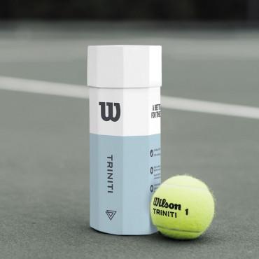 Bóng tennis Wilson Triniti lon 4 bóng