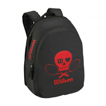 Balo Tennis trẻ em Wilson MATCH JR BACKPACK BLACK WRZ643595