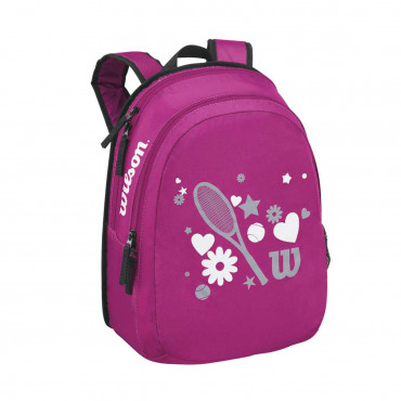 Balo Tennis trẻ em Wilson MATCH JR BACKPACK PINK