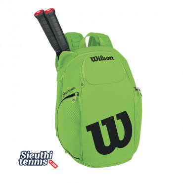 Balo tennis VANCOUVER BACKPACK Green-Black WRZ845796