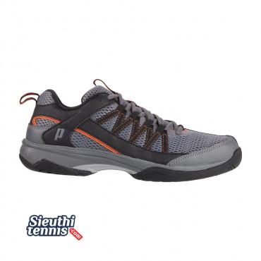 Giày tennis Prince Vortex Xám/Đen/Cam