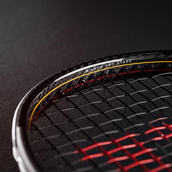 Công nghệ Braid 45 trên vợt Wilson Pro Staff V13